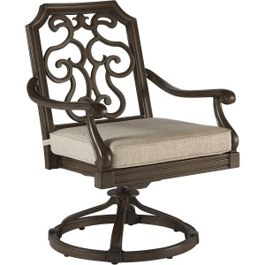 Gabrielle Swivel Dining Rocker