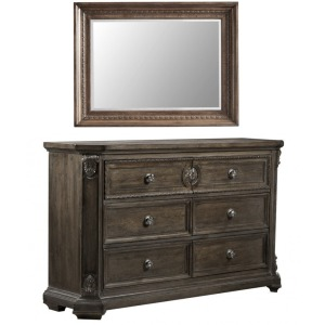Vintage Salvage Jackson Grayson Dresser & Nichols Mirror