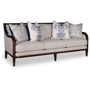 3 Seat Sofa with Tapered Legs