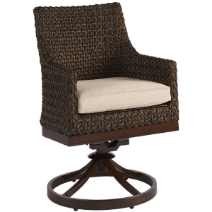 Franklin Wicker Swivel Rocker