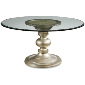Wallen Round Dining Table 54in Glass T