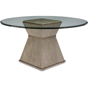 Hancock Round Dining Table w/ 54in gl