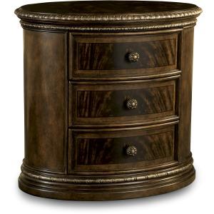 Oval Nightstand (Wood)