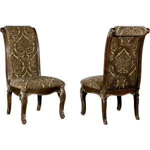 Uph. Back Side Chair