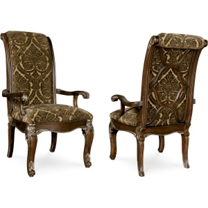 Uph. Back Arm Chair
