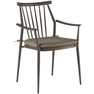 Epicenters Austin Outdoor Darrow Arm Dining Chair