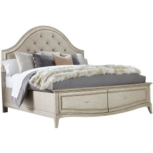 6/0 Uph Panel Bed w/ Storage