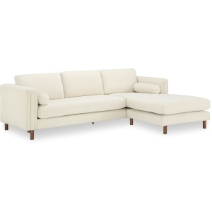 Larsen Bi-Sectional Sofa 103in & Ottoman