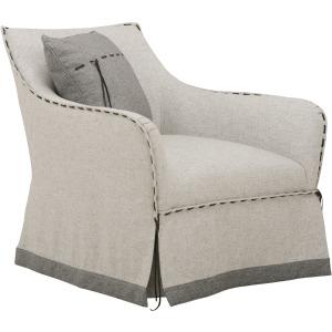 Tryon H. Grey Swivel Chair