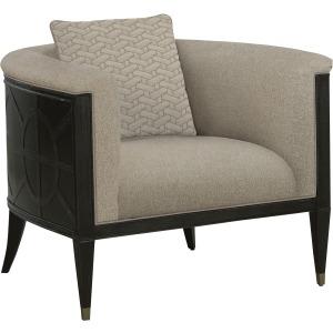 Timber Flax Barrel Chair