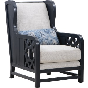 Breeze Linen Accent Chair