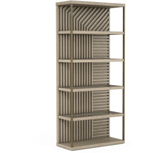 North Side Etagere Bookcase