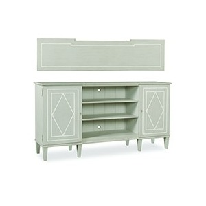 Entertainment Console   Grey