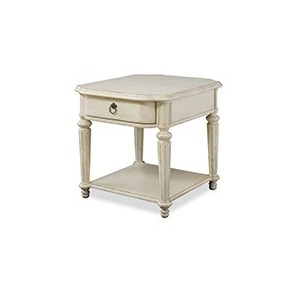 Drawer End Table Linen