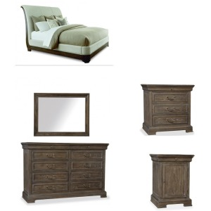 ART 215156 7PC KING BEDROOM SET