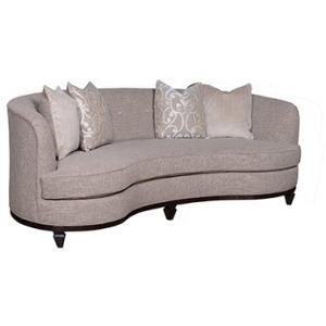 Fawn 84 Kidney Sofa