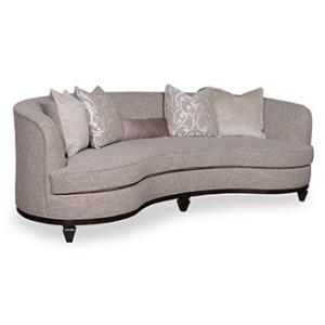 Fawn 101 Kidney Sofa