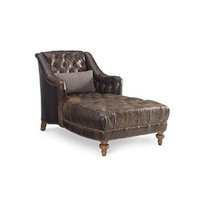 Miller Leather Chaise