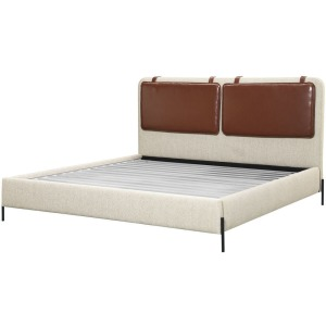Kirkeby King Upholstered Bed - Moss