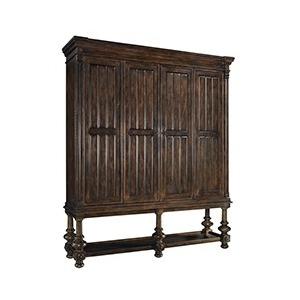 Entertainment Cabinet Barrel O