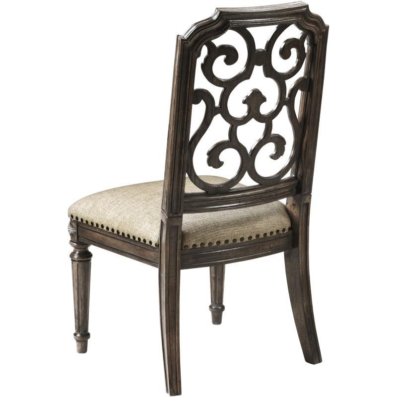 Tristan Fret Back Side Chair