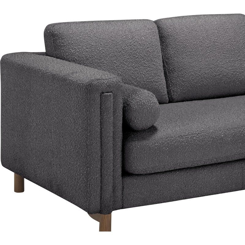 Bi Sectional Sofa 84in & Ottoman Tr