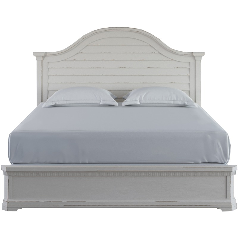 Palisade Queen Panel Bed - Silo