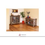 Multicolor Console w/2 doors, 2 drawers