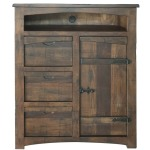 Mezcal 3 Drawer, 1 Door Great Chest for TV