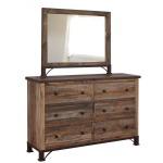 Antique Dresser & Mirror