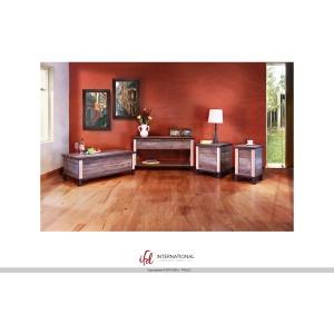 Storage Sofa Table w/wood shelf