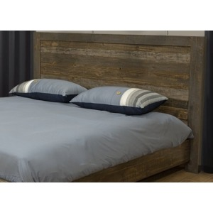 Loft Brown King Panel Headboard