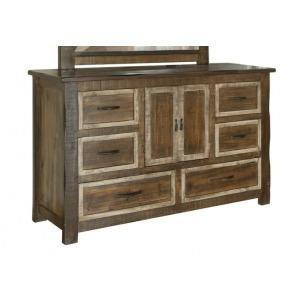 Veracruz 6 Drawer, 2 Door Dresser