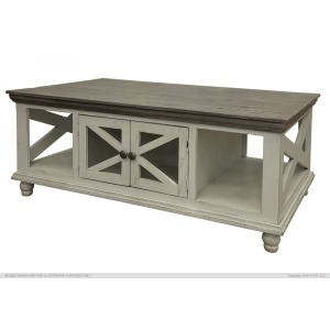 Florence Ivory Cocktail Table