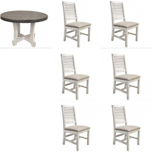 Stone 7 PC Dining Set