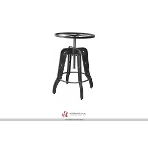24-30in Adjustable Height Iron Bistro Table Base
