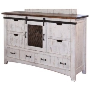 Pueblo 6 Drawer Dresser