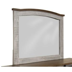 Pueblo Gray Mirror