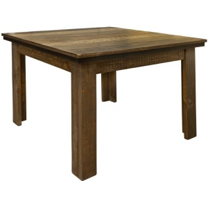 "Loft Brown 42"" Dining Table"