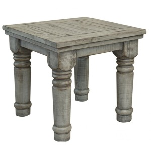 Botero Gray End Table