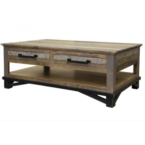 LOFT BROWN COCKTAIL TABLE