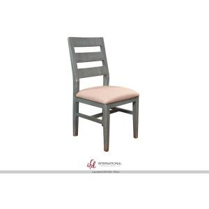 Antique Teal Ladderback Chair