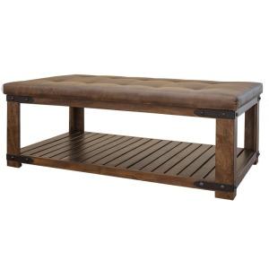 Parota Cocktail Table w/ Cushion Top