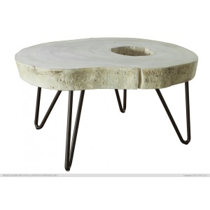 Authentic Live-Edge High Cst Table