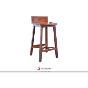 Pueblo Barstool, Brown