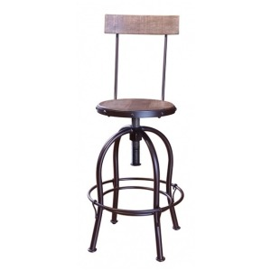 24-30in Adjustable Height Barstool