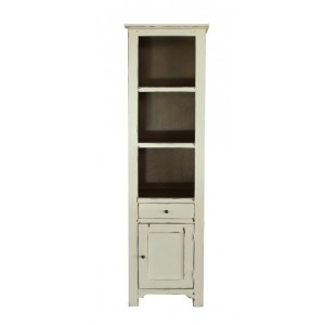 Rivera Bookcase in Vanilla