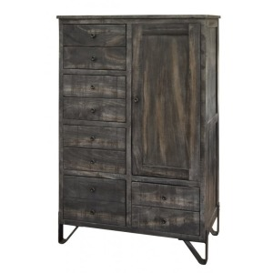 Moro 5 Drawer 1 Door Chest
