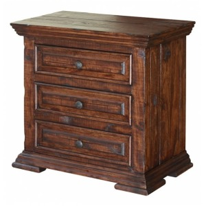 Terra 3 Drawer Nightstand