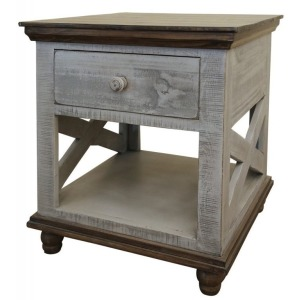 Florence Gray End Table